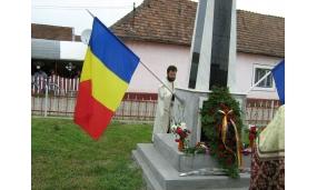 Sfințire monument Gîrbou